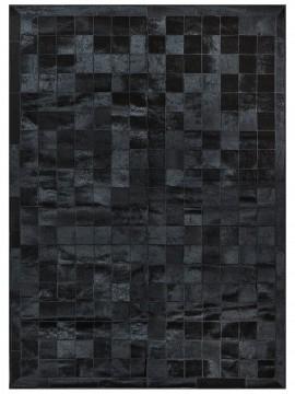 Tapete Couro Preto com Borda (10x10)