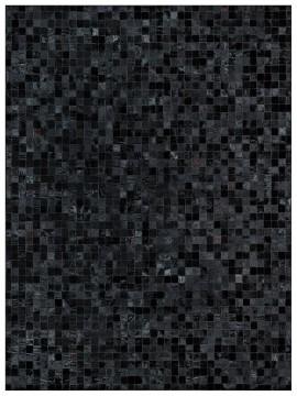 Tapete Couro Preto (5x5)