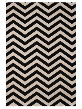 Tapete Chevron Black