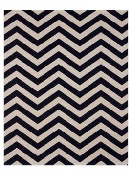 Tapete Chevron Blue