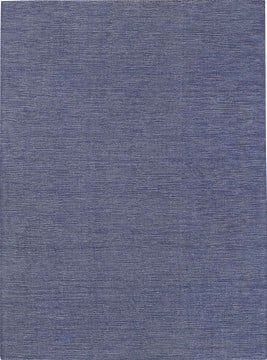 Tapete Kilim Viscose Azul