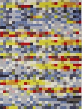 Tapete São Carlos Pixel Colorido