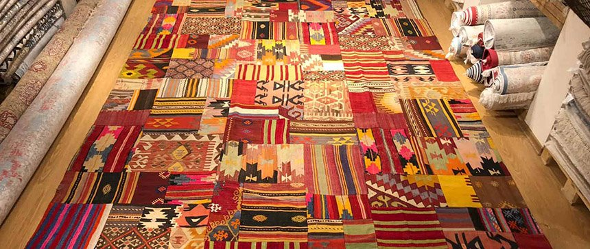 Tapete Reloaded e Patchwork